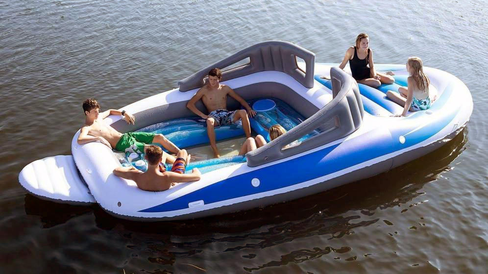 El yate hinchable de los pobres que arrasa en amazon
